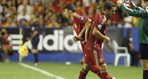 Spanish Debut as Munir replaces Koke  (Image from Getty)
