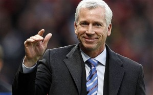 This close to the exit - Alan Pardew (Image from Getty)