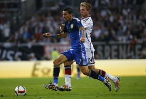 Di Maria set up three goals and scored the fourth (Image from PA)