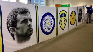 Leeds paid tribute to their former player Gary Speed (Image from PA)
