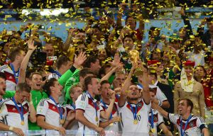 Germany won the World Cup by beating Argentina 1-0 (Image from Getty)