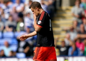 Matt Smith is given his marching orders 18 minutes into his debut  (Image from AP)