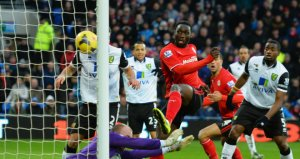 Kenwyne Jones has been Cradiff's only goal threat this season  (Image from PA)