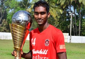Lenny Rodrigues was the first player selected in the ISL draft  (Image from PA)