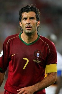 Lack of talent like Luis Figo coming through (Image from PA)