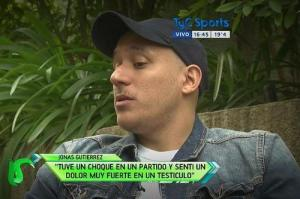 Gutierrez speaks to TyC about his battle with cancer  (Image from TyC)