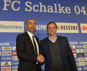 New Schalke manager, Roberto Di Matteo  (Image from Getty)