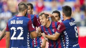 Eibar have been impressive so far in La Liga (Image from Getty)