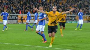 Dynamo Dresden knocked Schalke out of the cup  (Image from Bild)