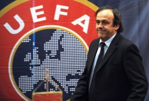 Changes Coming - Platini looking to improve the Champions League  (Image from ROBERT ATANASOVSKI/AFP/Getty Images)