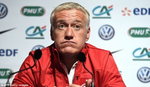 Tough week for Deschamps (Image from AFP/GETTY
