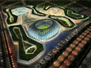 The Al Wakrah Stadium which is to be built will include state of the art cooling systems to keep fans and players comfortable (Image from Qatar.TO)