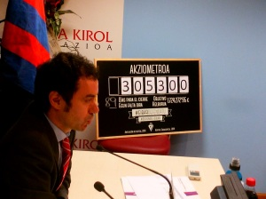 Chairman Alex Aranzabal was instrumental in guiding Eibar to La Liga  (Image from PA)