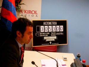 Chairman Alex Aranzabal was instrumental in guiding Eibar to La Liga  (Image from PA)