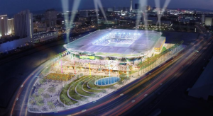 Concept of what the stadium will look like  (Image from MLS2LV)
