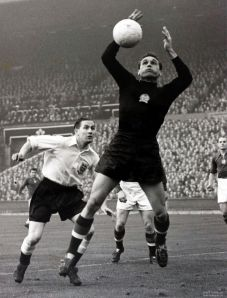 The original sweeper keeper, Gyula Grosics  (Image from AFP)