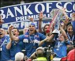 Between them, Rangers and Celtic have won every title  since 1986 (Image from Getty)