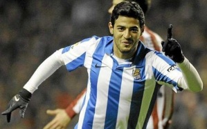 Upfront Mexican Carlos Vela leads the line  (Image from Getty)