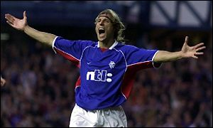 Caniggia became a cult hero at Rangers thanks to a goal in the Old Firm derby  (Image from PA)