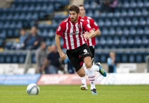 Evans during his Sheffield United days before his conviction  (Image from Getty)