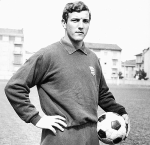 A young Marcello Lippi in his playing days  (Image from AFP)