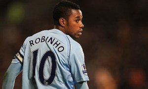 Robinho was one of the first glamour players to arrive at City  (Image from Getty)