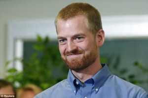 Dr Kent Brantly is a US doctor who contracted the disease but has since made a full recovery  (Image from Reuters)
