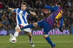 Inigo Martinez is one of Spain's best prospects  (Image from AFP)