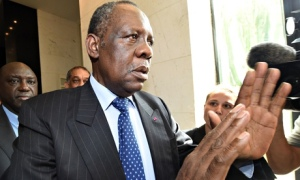 Issa Hayatou, President of CAF now faces a race against time to find a new host for the event (Image from Getty)