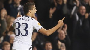 Lamela has managed to fill the boots left by Bale  (Image from Getty)