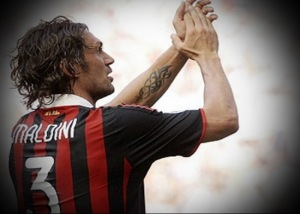 Legend in his own right - Paolo Maldini  (Image from Getty)