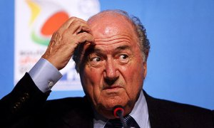 You didn't believe the report? Blatter in hot water yet again  (Image from Getty)