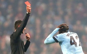 City's problems in Europe get worse as Toure sees red against CSKA Moscow  (Image from PA)
