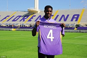 Homeward bound - Richards could feature against Spurs  (Image from EPA)