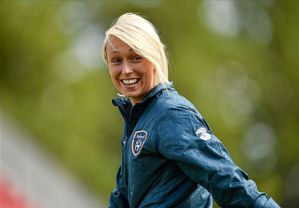Goal of the Year contender - Stephanie Roche (Image from Getty)
