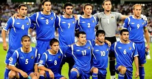 New Challenge - The Azerbaijan national team  (Image from Getty)