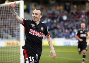 Berbatov is Monaco's top goal scorer on five  (Image from REUTERS/Robert Pratta)