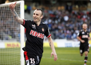 Berbatov is Monaco's top goal scorer on five  (Image from REUTERS/Robert Pratta)