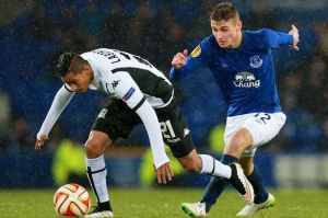 Ledson commanded the Everton midfield against Krasnodar  (Image from PA)