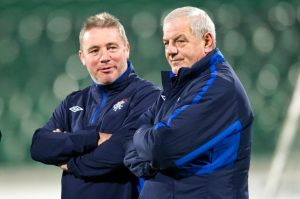 Smith chose McCoist as his assistant firstly for Scotland then for Rangers  (Image from Getty)