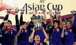 Four years ago, Japan lifted the Cup after beating Australia in the final  Image from Getty)