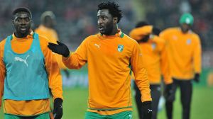 Bony is now away on international duty with the Ivory Coast  (Image from Getty)