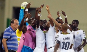 Ghana will face the Ivory Coast in Sunday's final  (Image from Getty)