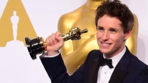 Eddie Redmayne won the Best Actor award for his role in The Theory of Everything  (Image from Getty)