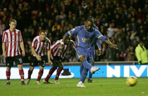 Defoe scores against Sunderland  (Video not available)