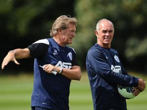 Hoddle and Jordan have now left QPR  (Image from AFP)