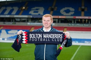 Fan Favourite - Neil Lennon could take over  (Image from Ian Hodgson)