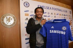 Biggest signing of the windwo - Juan Cuadrado joins Chelsea  (Image from Getty)
