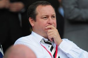 Newcastle owner Mike Ashley has a share in Rangers  (Image from Getty)