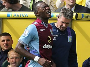 Benteke's injury problems have not helped the cause  (Image from AFP)